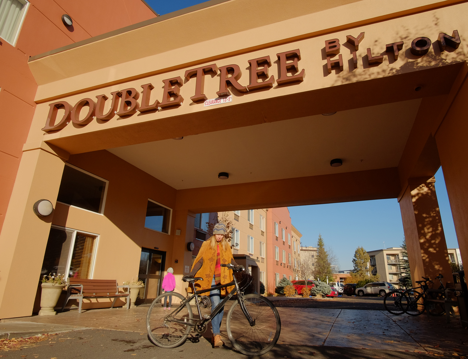 Doubletree Hotel. Photo by Kyle Ramey of Bikabout