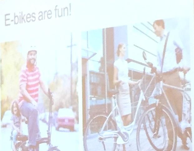 John MacArthur's Ebike user presentation at the Washington Bike Summit