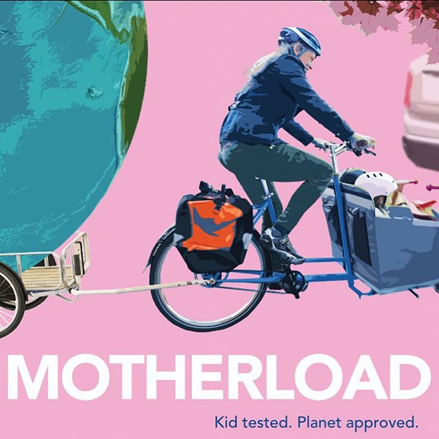 The #cargobike tsunami 🌊 is coming and the future is bright! I helped organize a Bike-In 🚲 🎥 screening of @motherloadmovie in Hood River and not only did it attract a few new faces to our advocacy circle, but it showed us all that bicycle mobility can bring joy, health, financial and community well being and take us places in a very functional and efficient way. Props to Liz Canning, the filmmaker and thank you 🙏 for letting me be a part of such an important project. #motherloadmovie #cargobikelife #cargobike #ebikesarecheating #ebike #ebikes #ecargobike #hoodriver #bikeinmovie