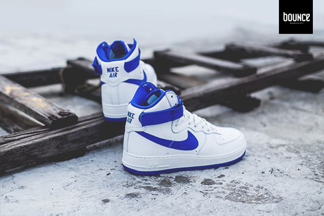 Coming Soon Nike Air Force 1 High Og White Blue Sneaker Shouts