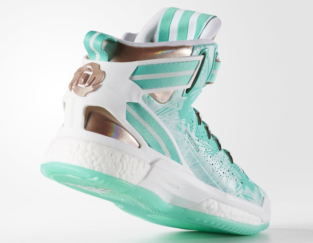 Derrick Rose Christmas Shoes 2016.First Look At The Adidas D Rose 6 Christmas Sneaker Shouts