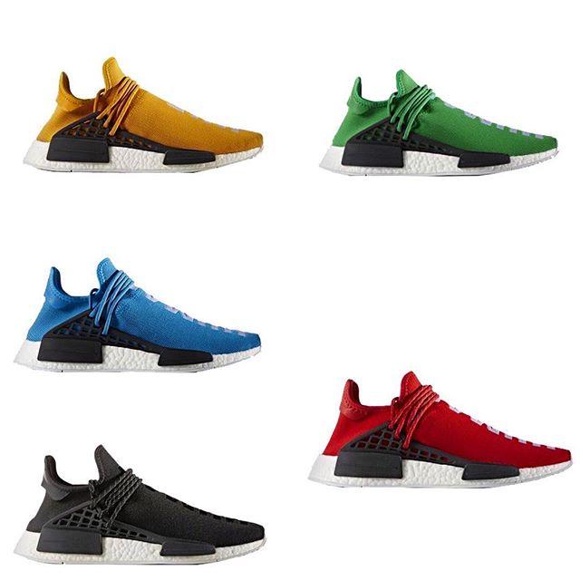 Pharrell X Adidas Nmd Human Race Release Links Sneaker Shouts