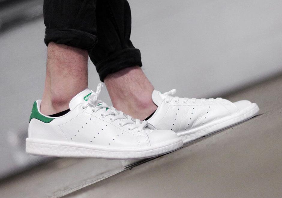 huge discount 94e8e e39be Now Available: adidas Stan Smith Boost