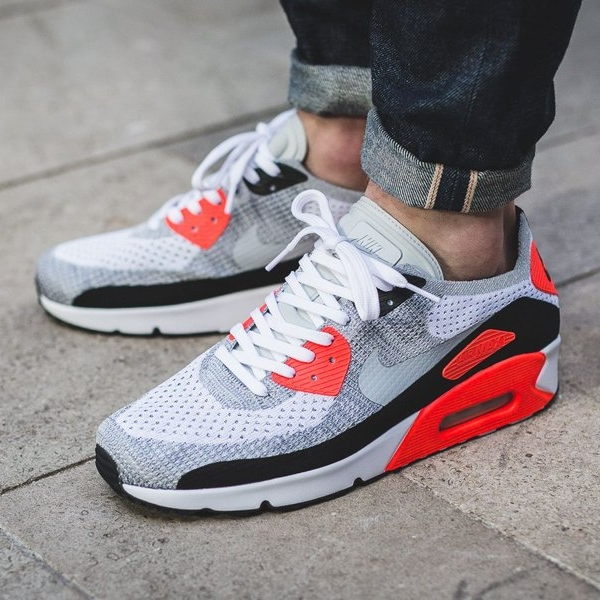 air max 90 infrared flyknit