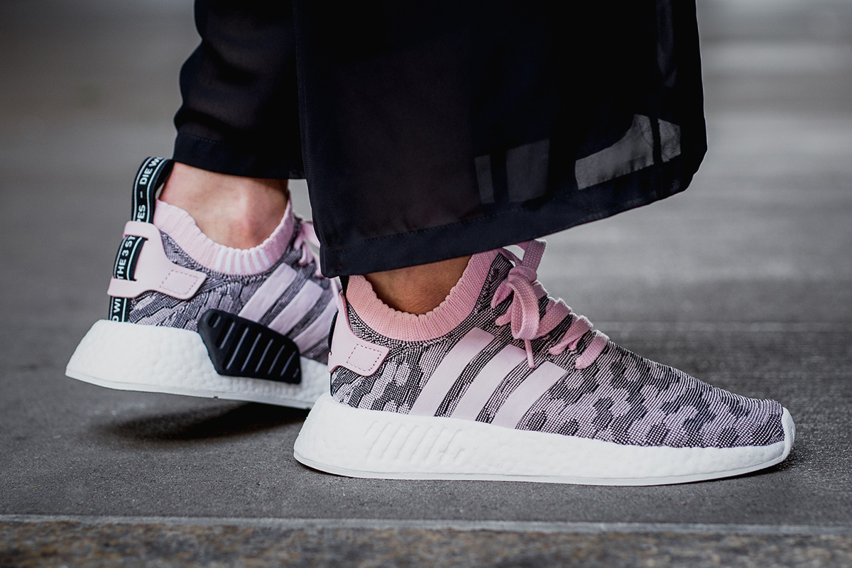 Now Available Women S Adidas Nmd R2 Pk Wonder Pink Sneaker Shouts