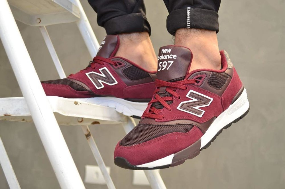 new balance 597 tan