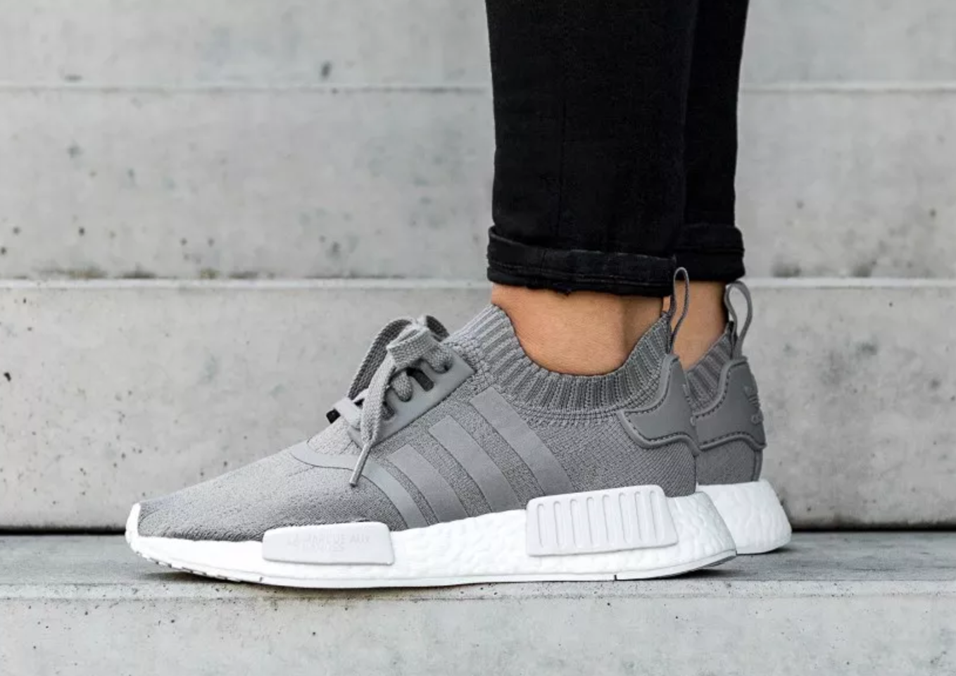 adidas nmd r1 womens grey