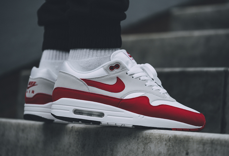 Eh Producto Propuesta alternativa  Shopping > nike air max 1 anniversary red restock