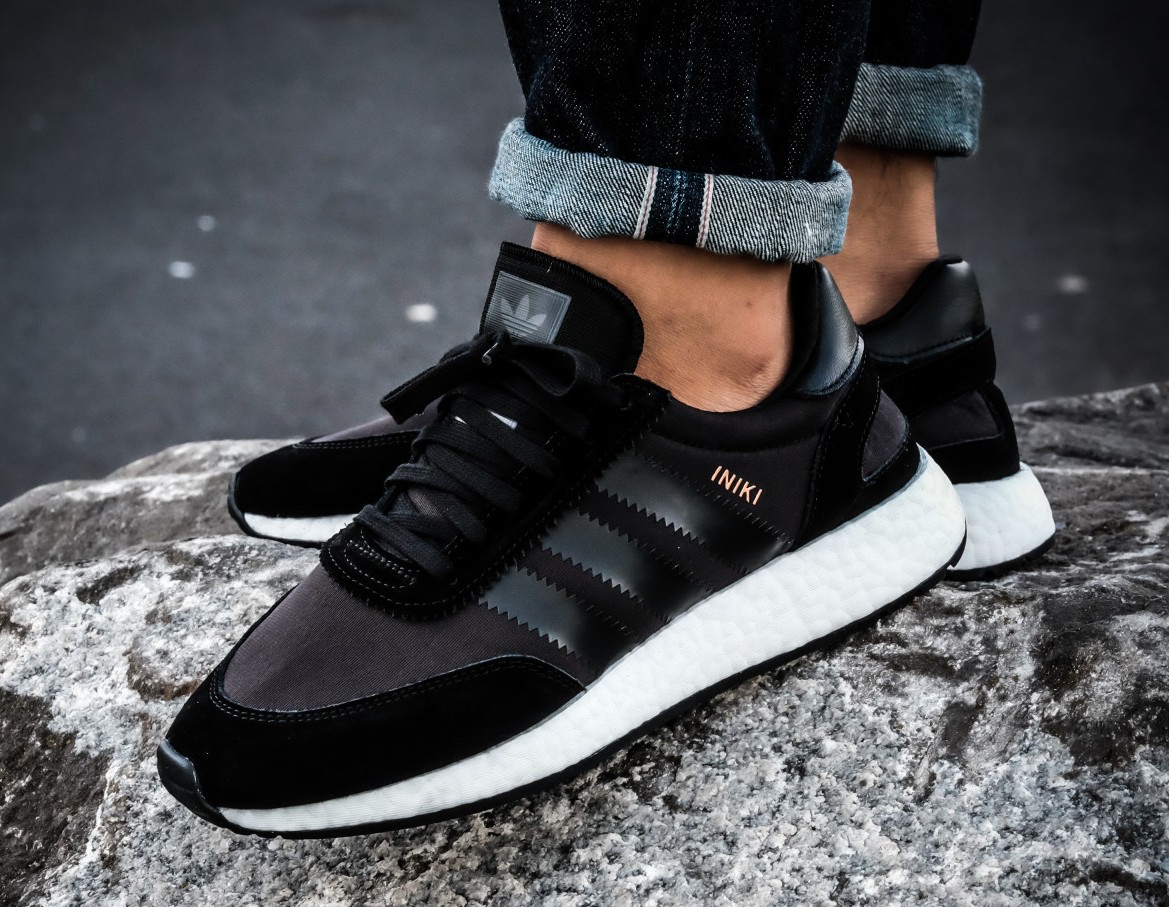 "Adidas Iniki Boost Runner ""Triple Black"" BB2101"