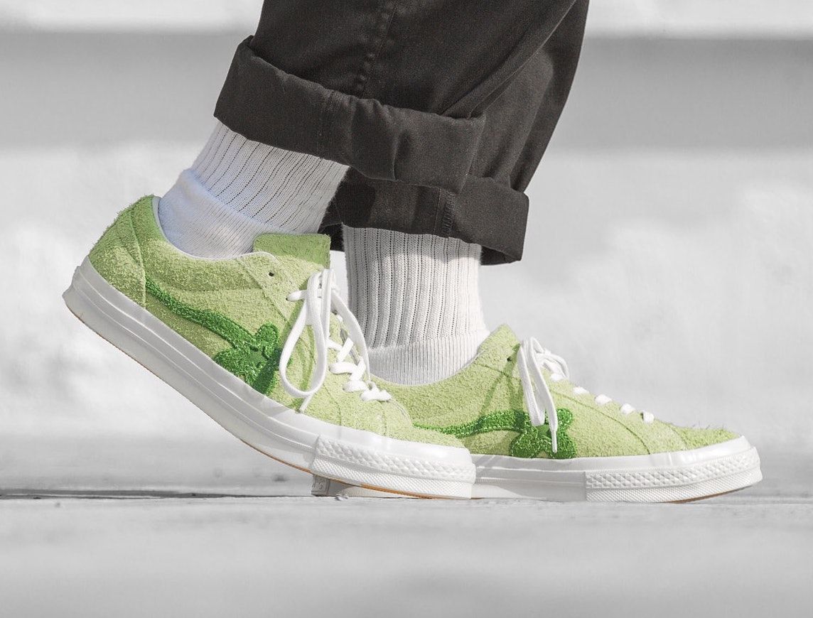 Now Available: Golf Le Fleur x Converse One Star Suede