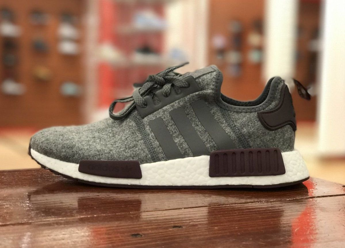 Adidas Nmd R1 Wool Grey Best Sale, UP TO 56% OFF