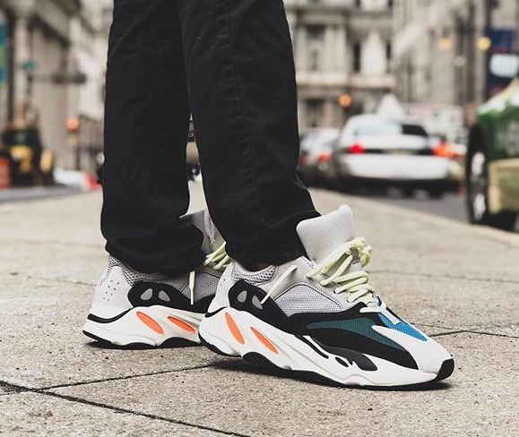yeezy x adidas 700 wave runner og sneakers