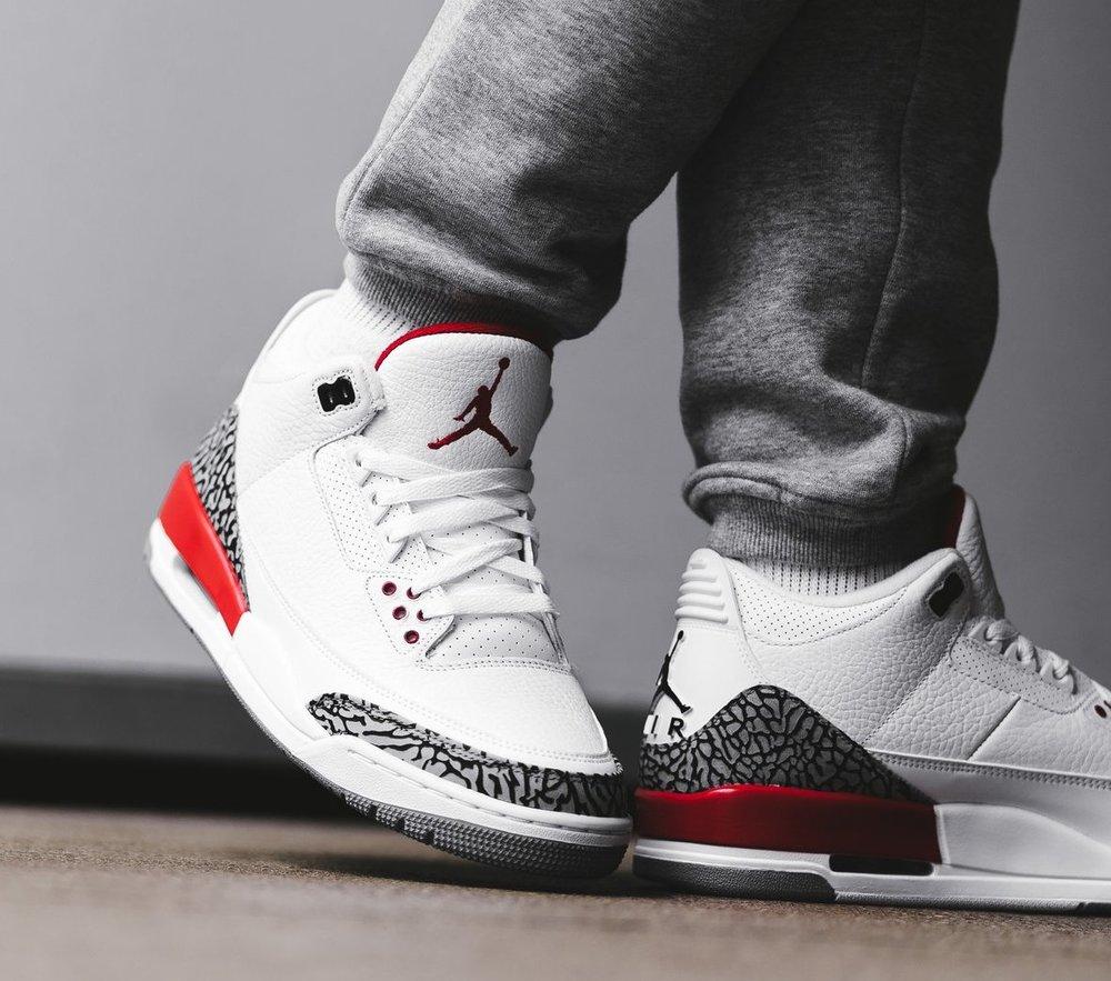 Restock: Air Jordan 3 Retro