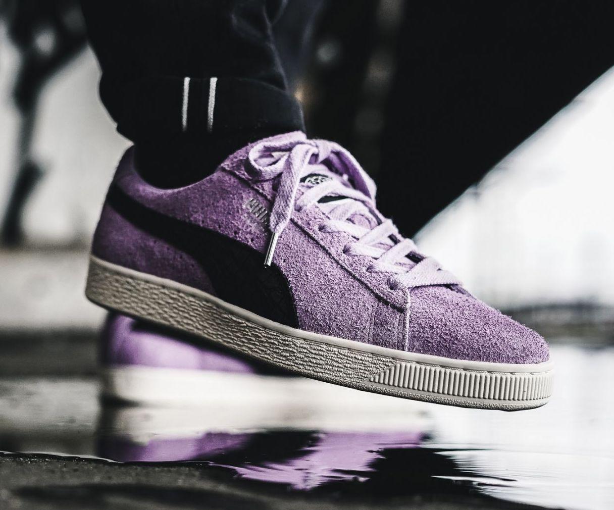 puma suede violet