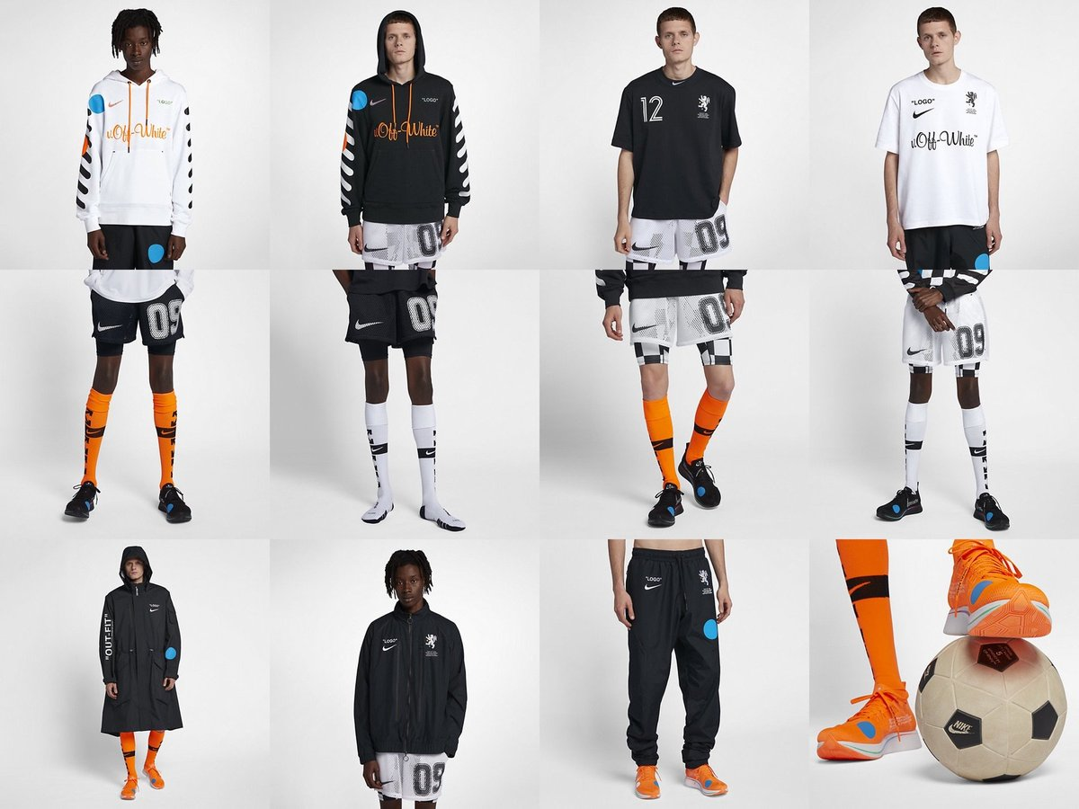 OFF-WHITE x Nike Soccer Collection