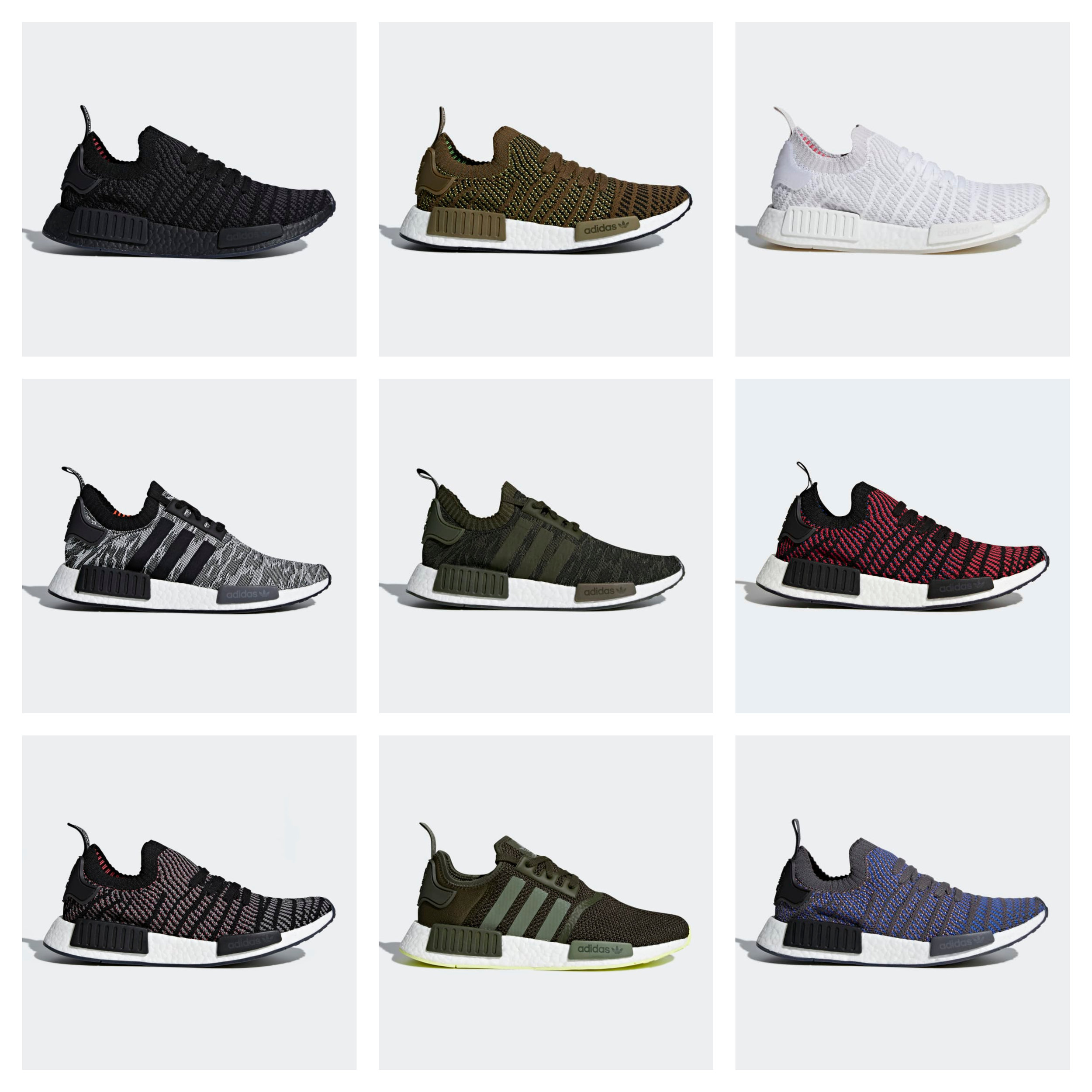adidas nmd all colorways