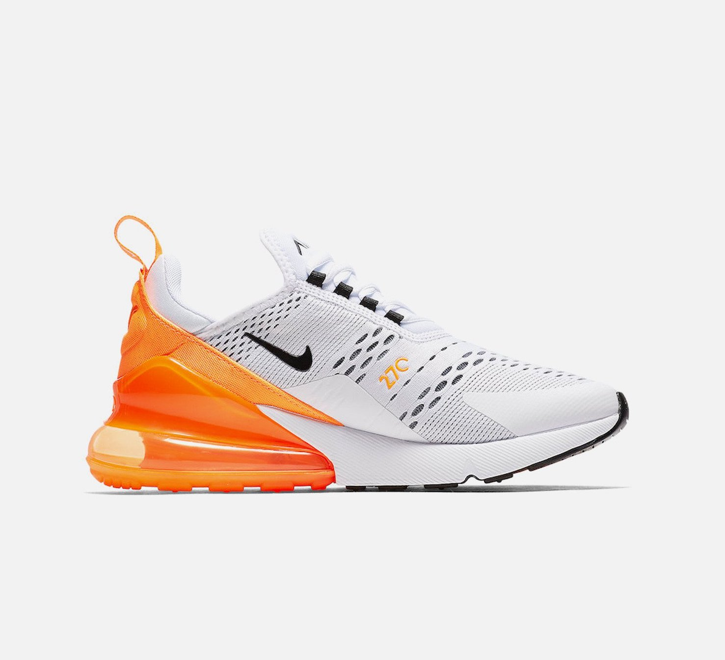 nike air max 270 just do it orange
