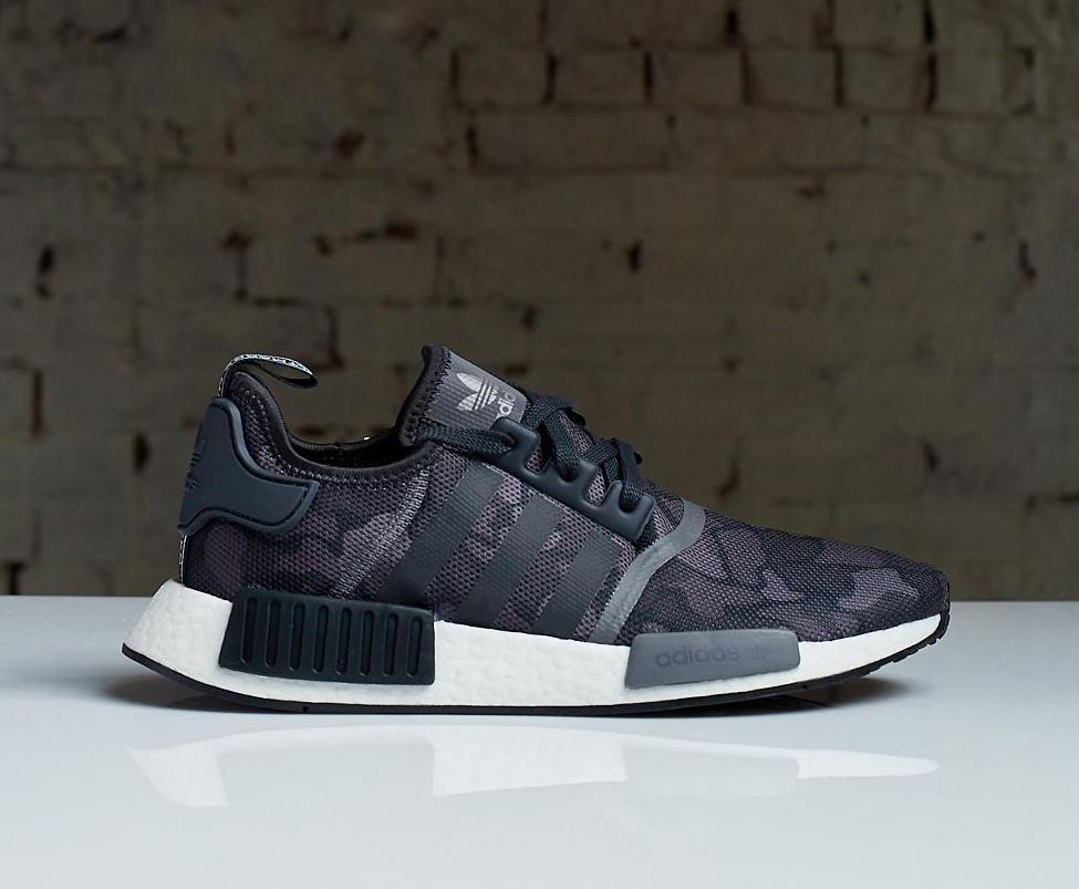 On Sale Adidas Nmd R1 Duck Camo Black Sneaker Shouts