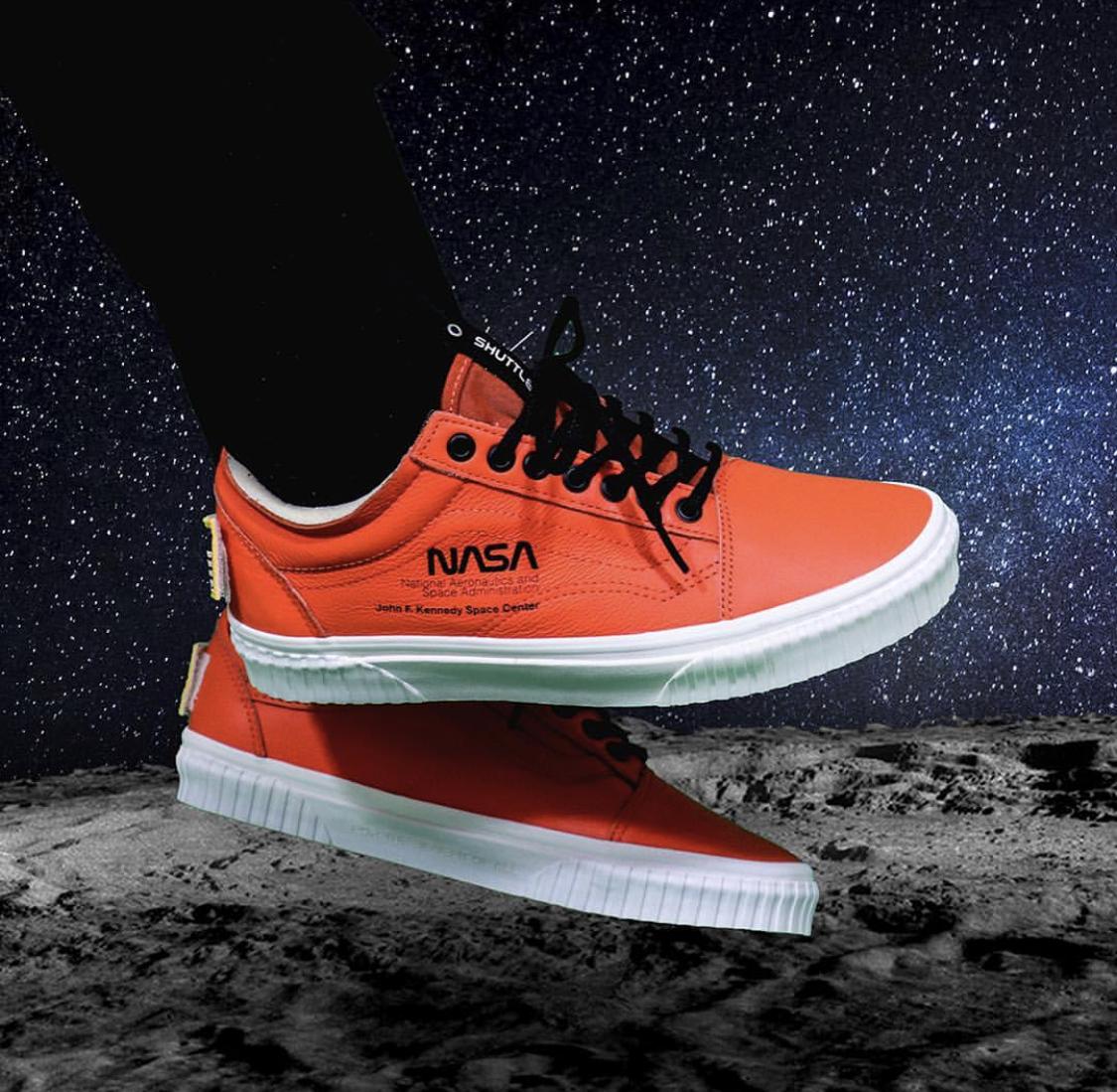 Restock: NASA x Vans Old Skool