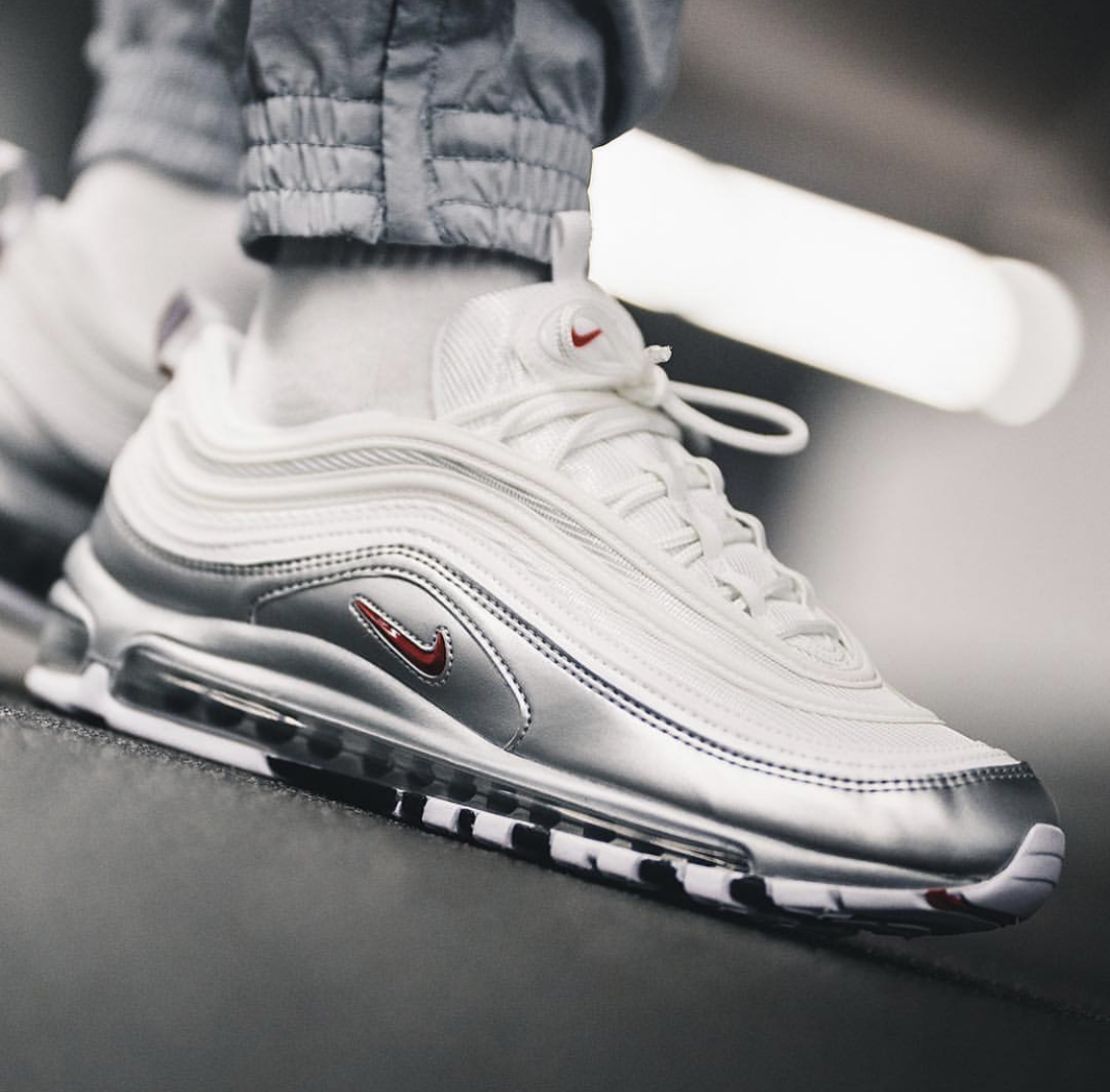 Now Available: Nike Air Max 97 QS Metallic Silver