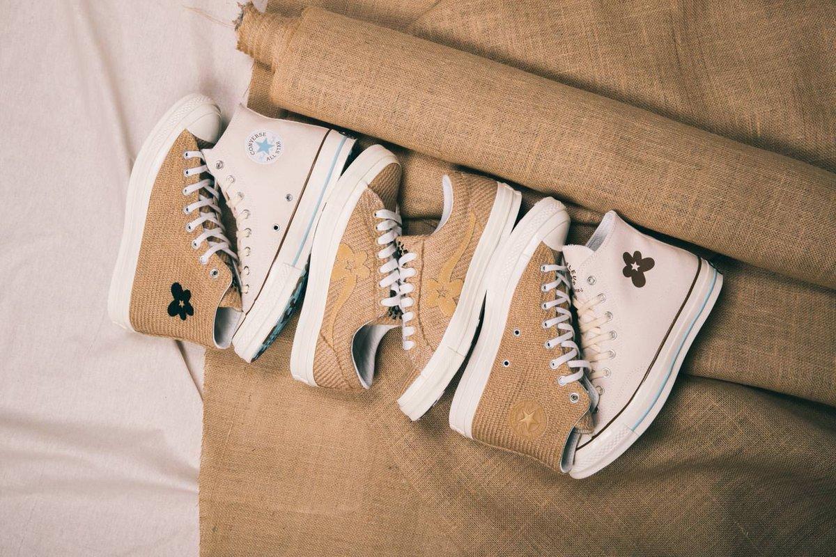 Now Available Golf Le Fleur X Converse Burlap Collection Sneaker Shouts