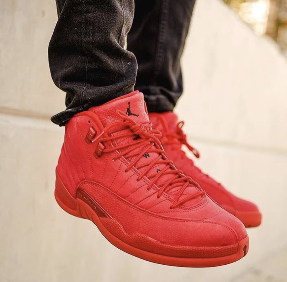 jordan 12 gym red outfit