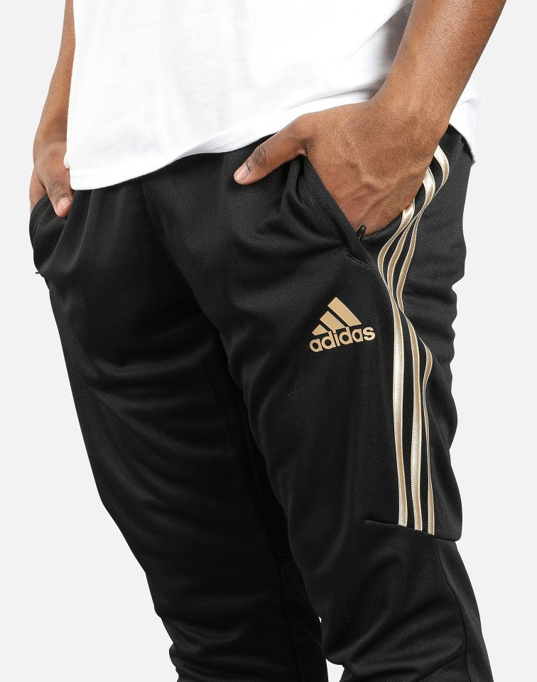 adidas pants gold