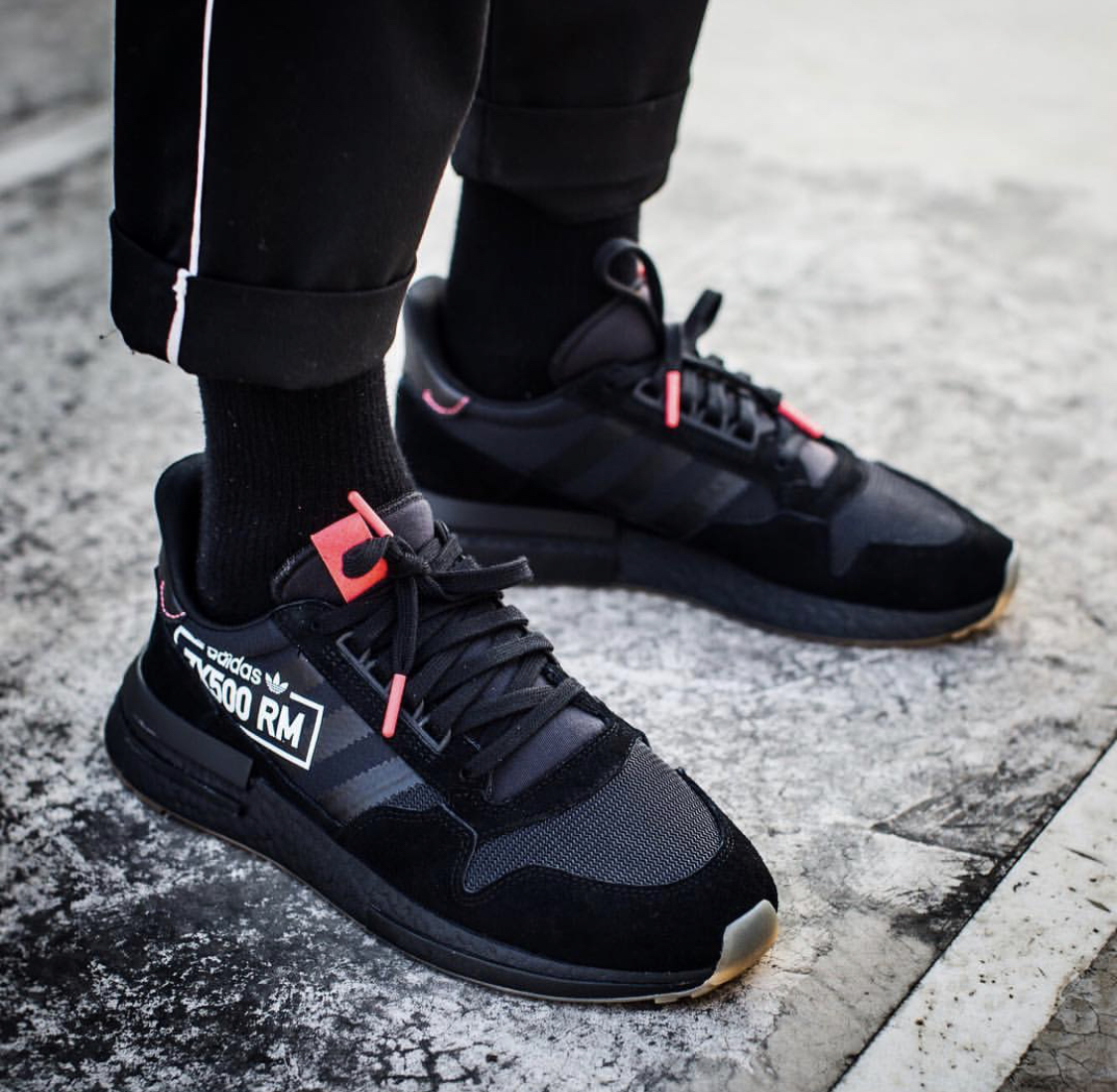 adidas zx 500 rm all black The Adidas