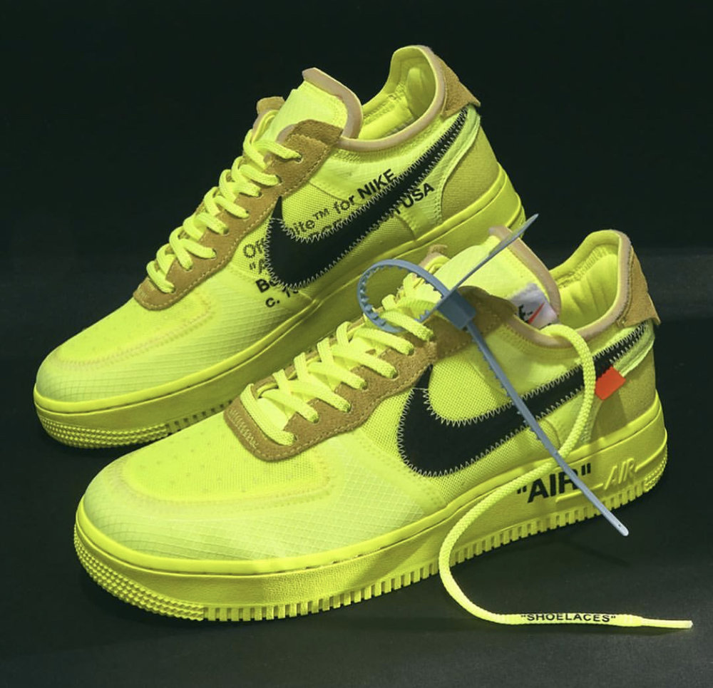 Now Available Off White X Nike Air Force 1 Low Volt Sneaker