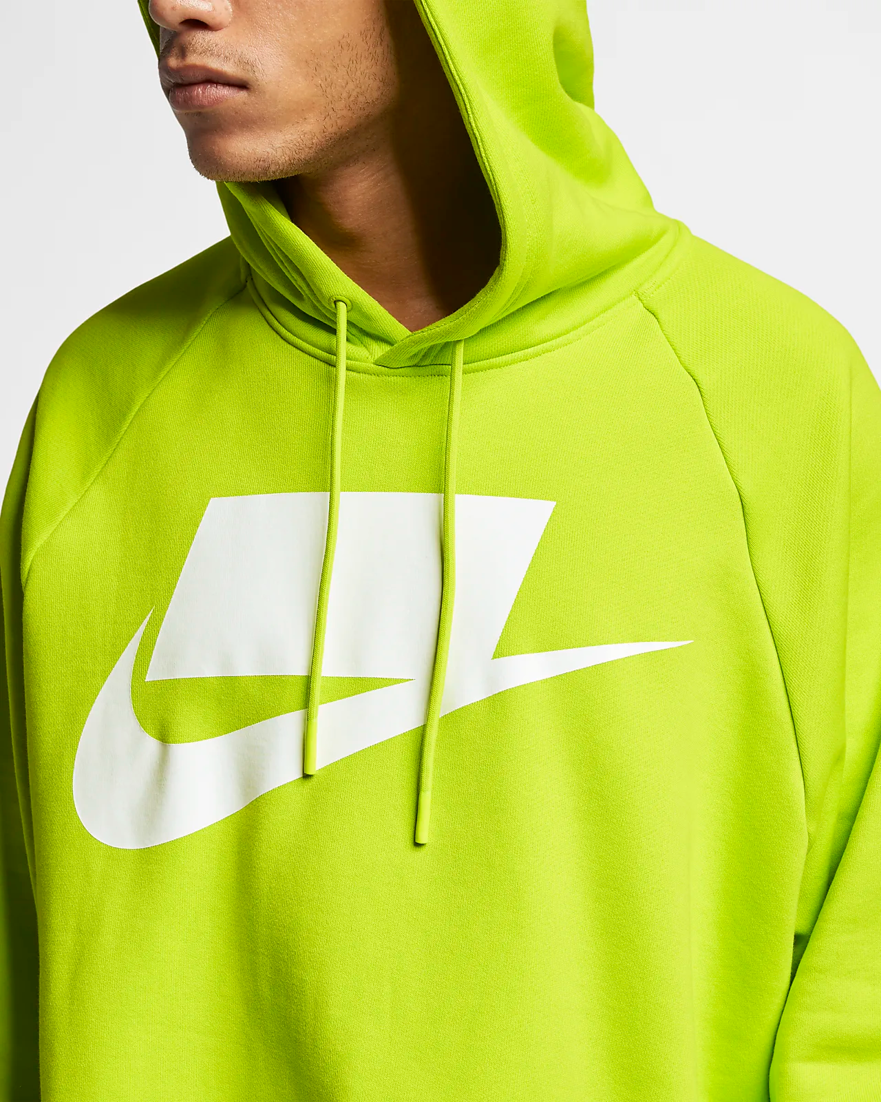 Creta insecto Humedal  Now Available: Nike Sportswear French Terry Block Logo Hoodies — Sneaker  Shouts
