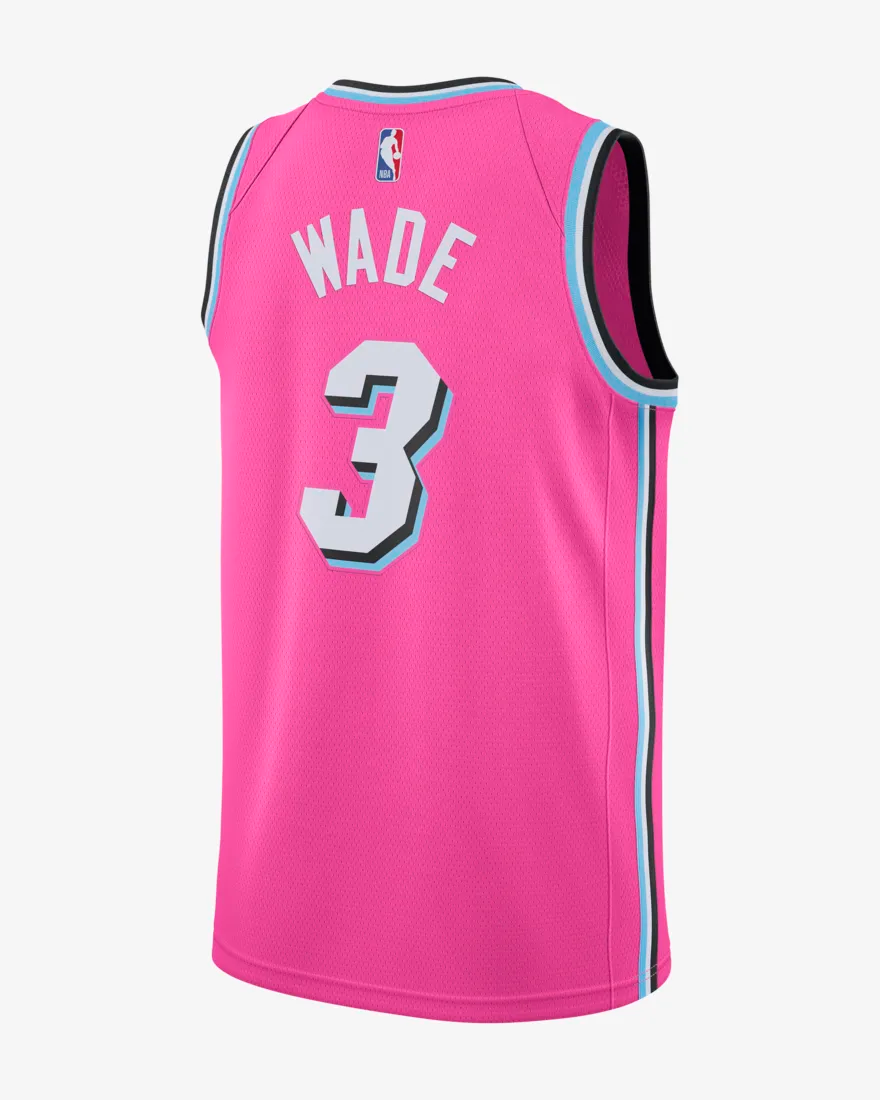 reputable site f2a02 dfb0b Restock: Nike NBA City Edition Dwayne Wade Jersey