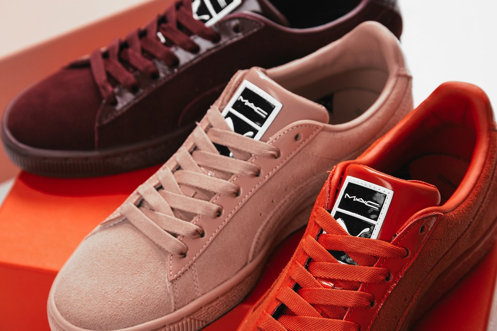 the best attitude e6276 d14fa On Sale: MAC x Puma Suede Classic — Sneaker Shouts