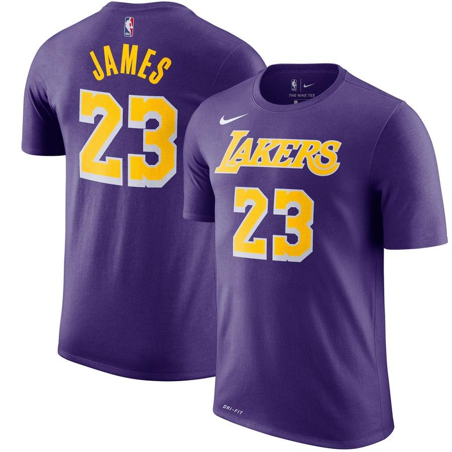 best cheap 2fe71 5d5b3 On Sale: Nike NBA LeBron James Lakers Jersey Tee — Sneaker ...
