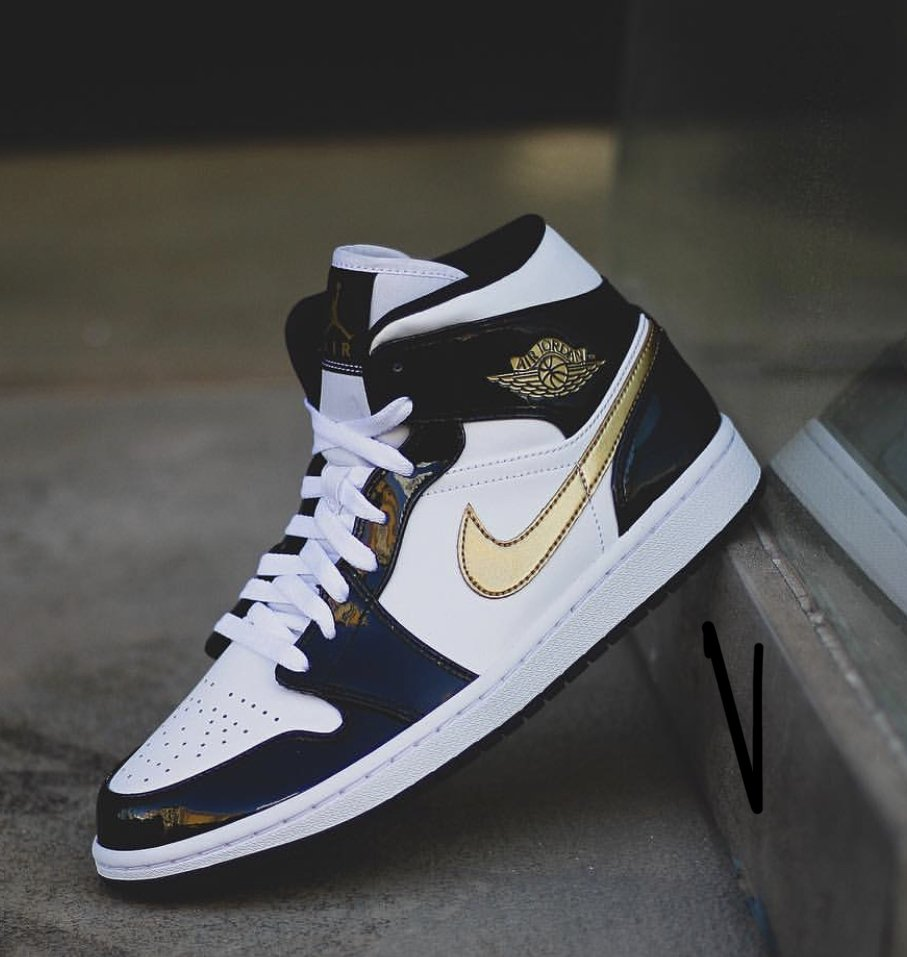best sneakers a91dc b1a60 Restock  Air Jordan 1 Mid Patent Leather