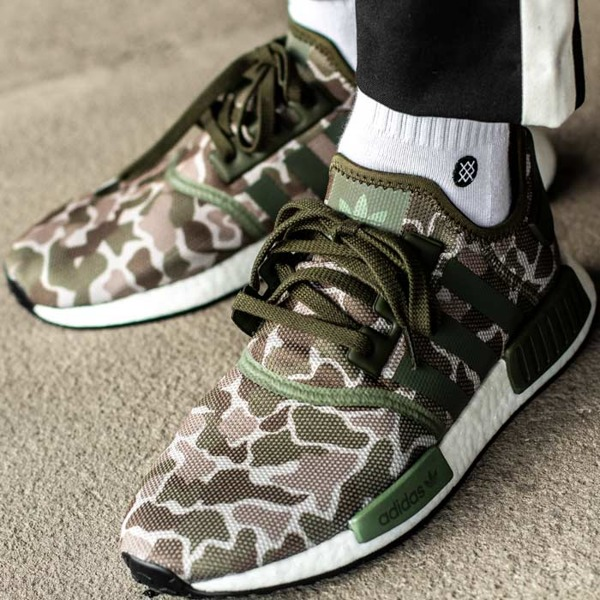 On Sale Adidas Nmd R1 Duck Camo Green Sneaker Shouts