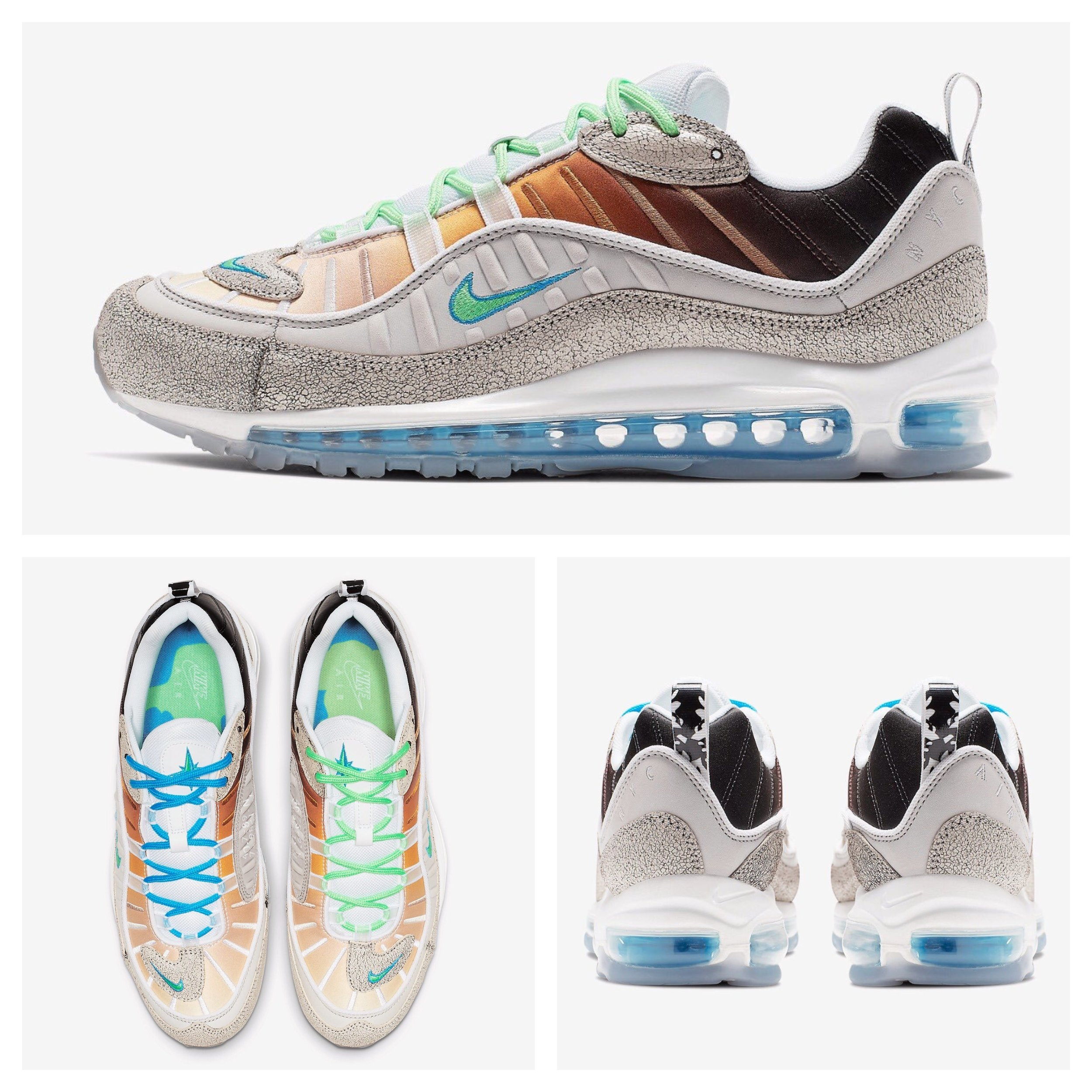 76156d8ffb Now Available: Nike Air Max 98