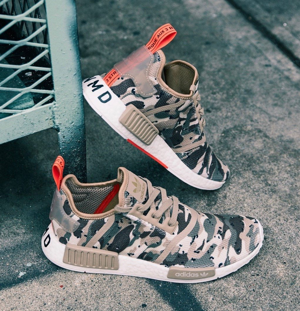 On Sale Adidas Nmd R1 Desert Camo Sneaker Shouts