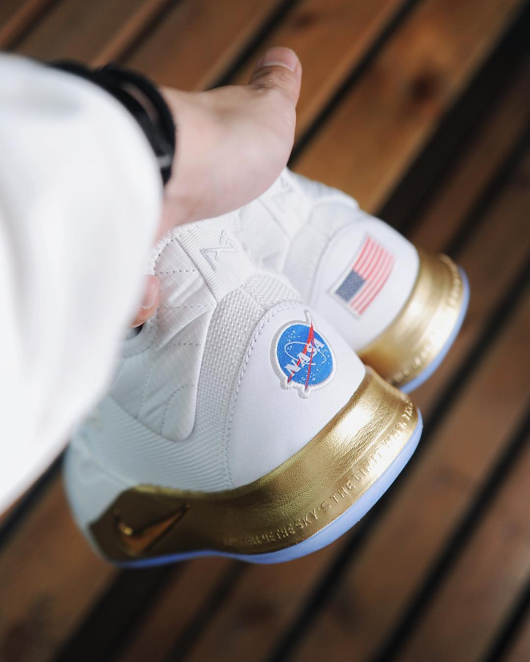 entire collection sports shoes sleek Now Available: NASA x Nike PG 3