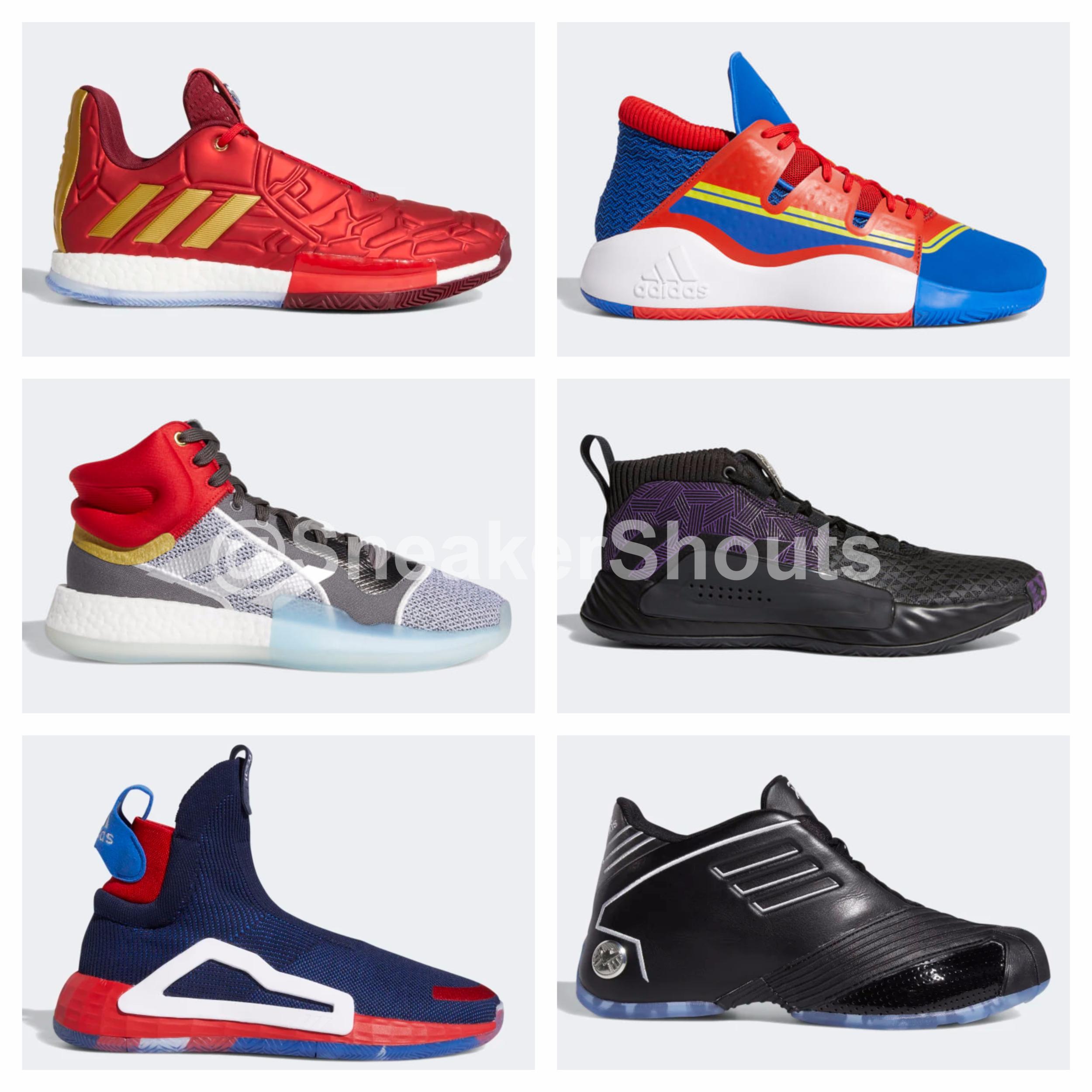Marvel x adidas Basketball \