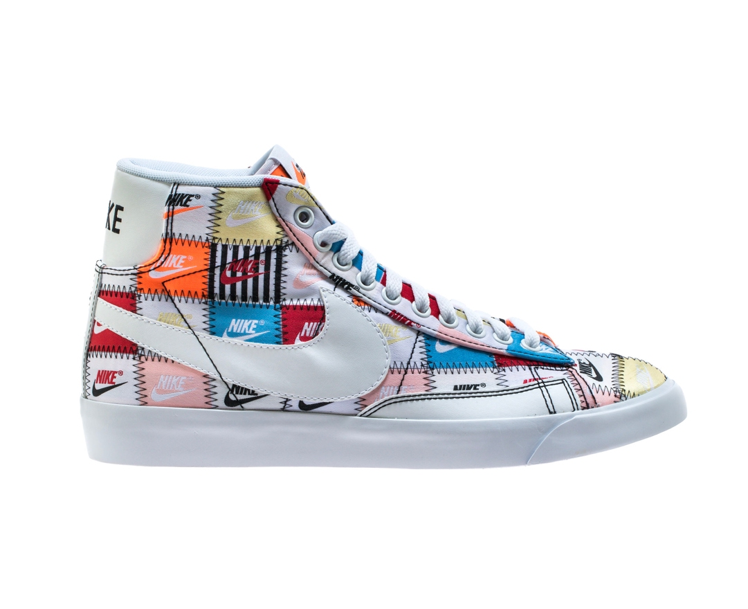 ef1a4a54 Now Available: Nike Blazer Mid Patchwork