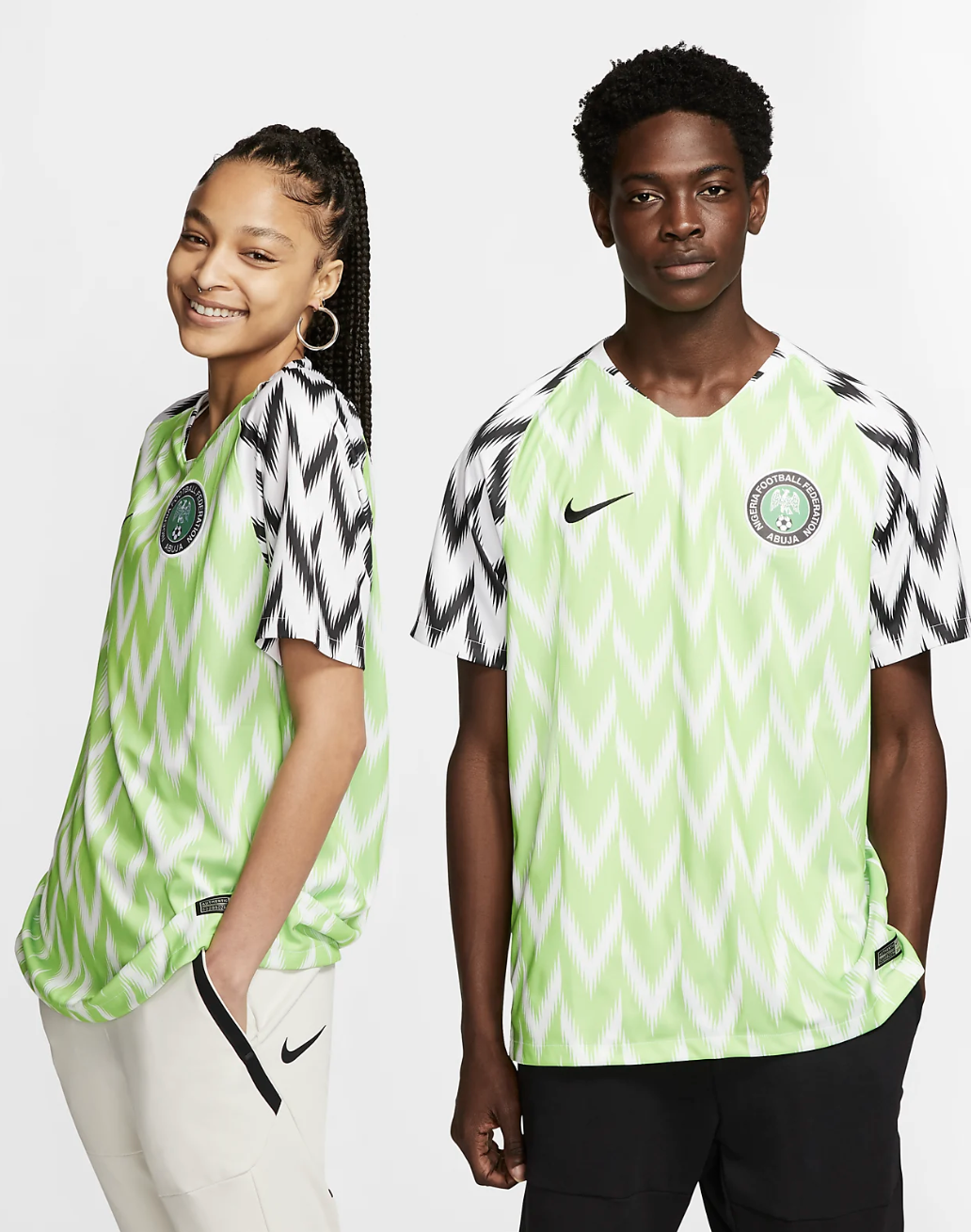 finest selection bcd77 2578f Now Available: 2019 Nike Nigeria Stadium Soccer Jersey ...