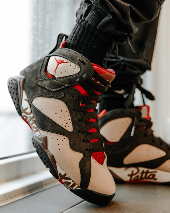 27c0e723794ca Restock: Patta x Air Jordan 7 Retro