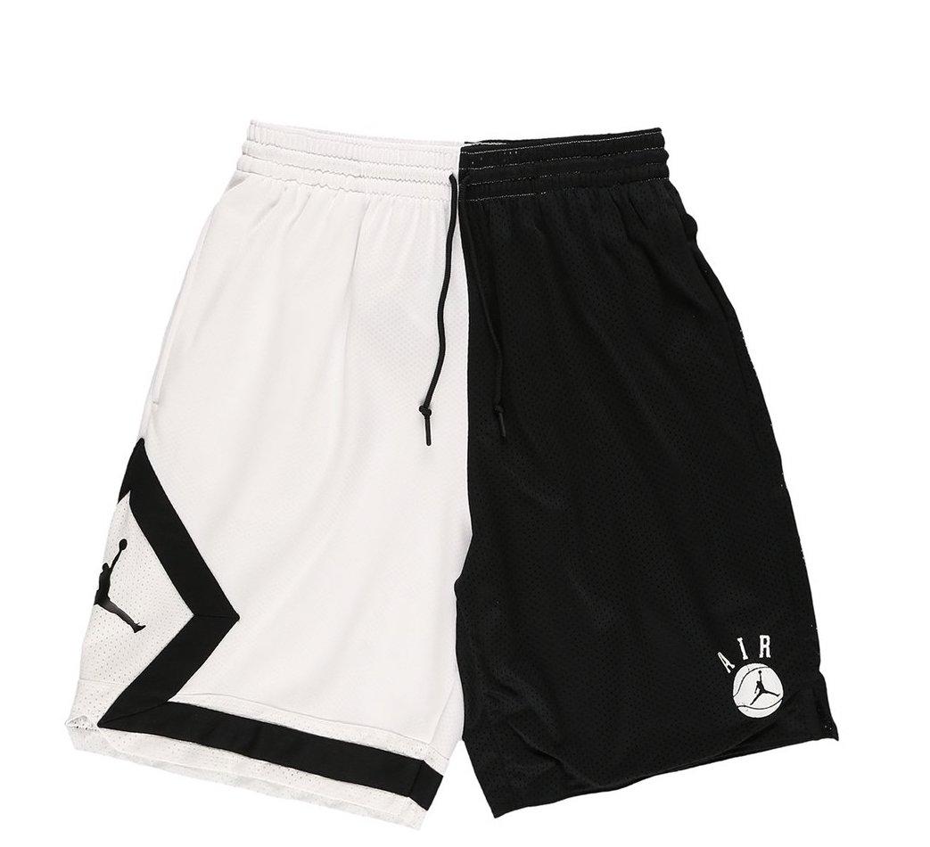 jordan black and white shorts Shop