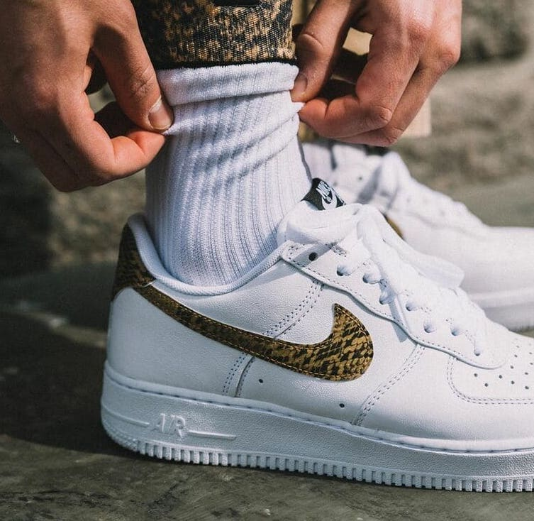 Release Date: Nike Air Force 1 Low 'Ivory Snake'