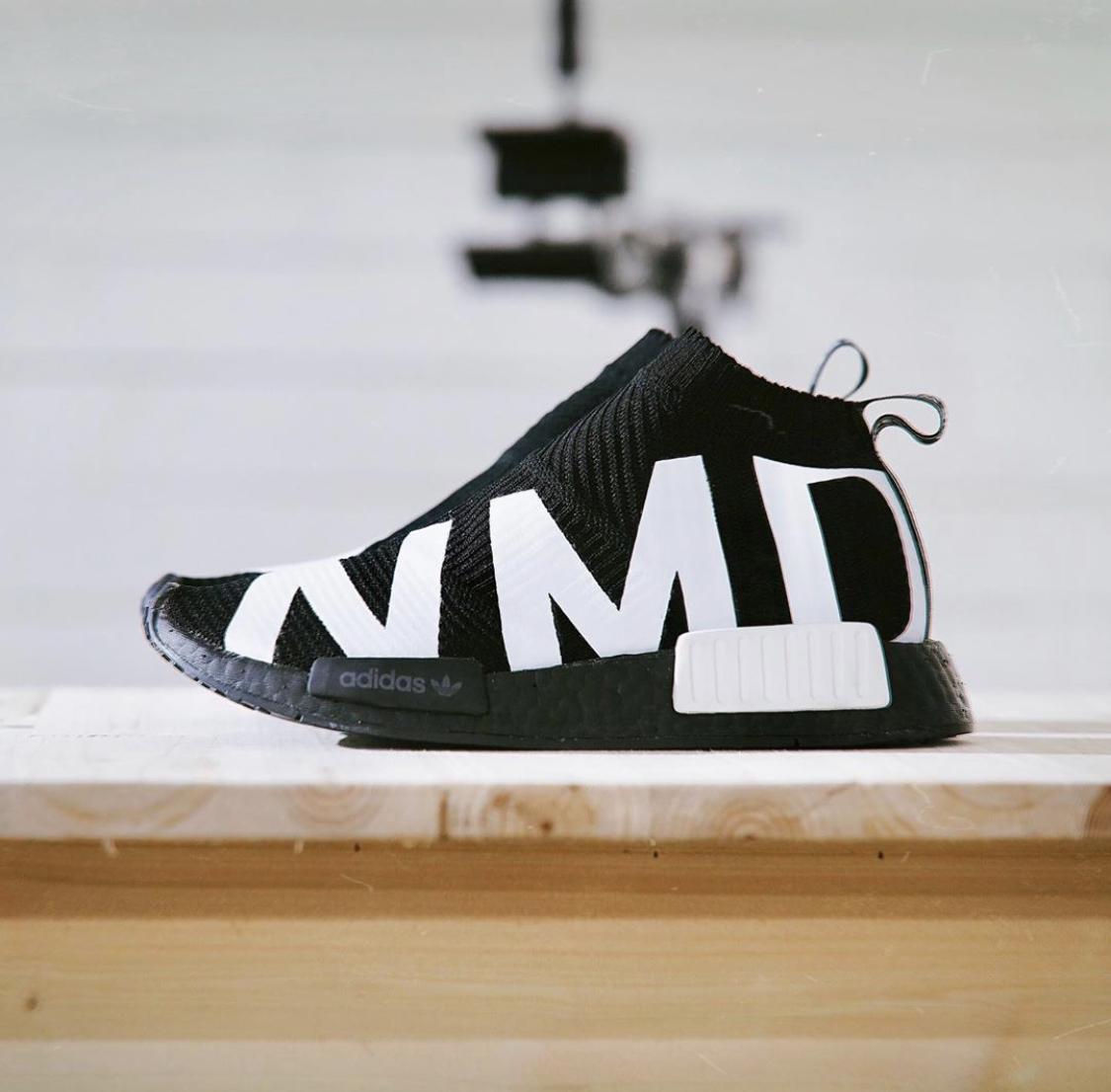 adidas NMD CS1 Black Branding
