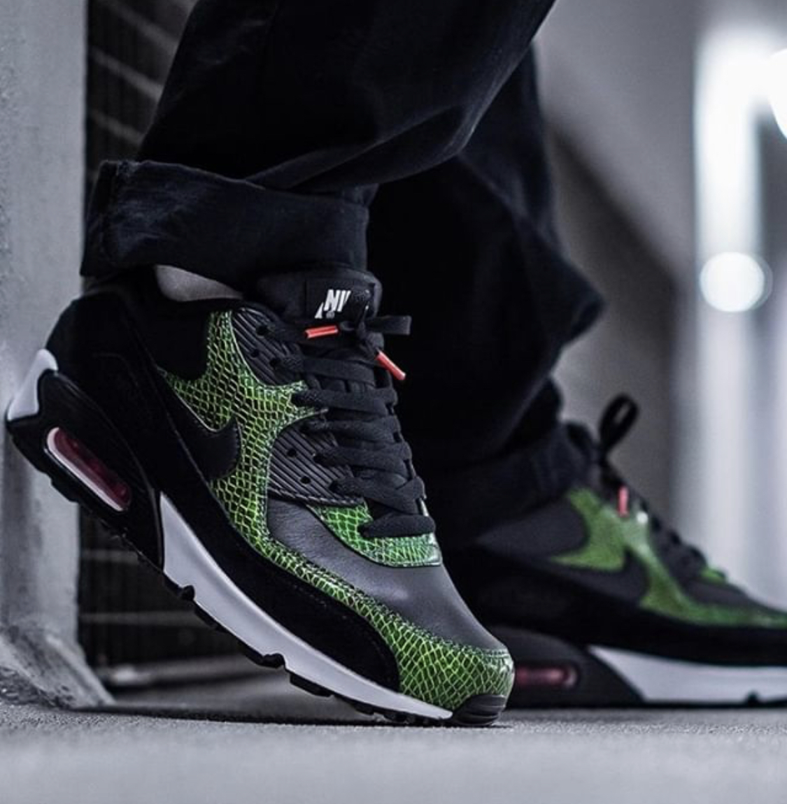 "Nike Air Max 90 ""Green Python"" For Sale"
