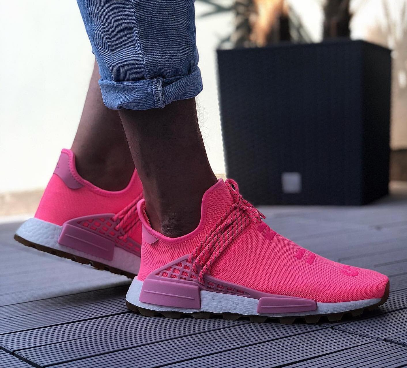Details about Adidas NMD Hu Trail Pharrell Now Is Her Time Light Pink Size 12. EG7740 yeezy