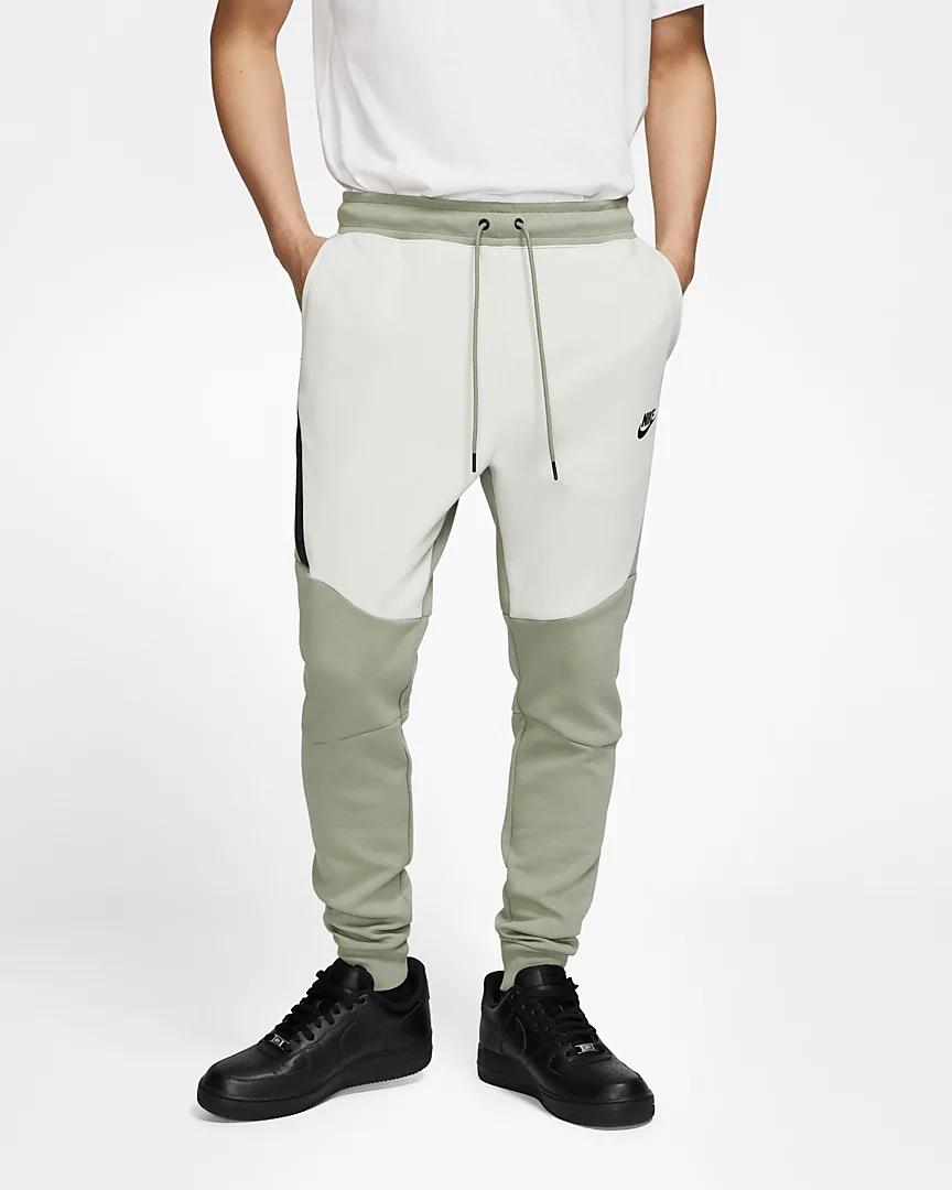 On Sale Nike Tech Fleece Joggers Light Bone Sneaker Shouts