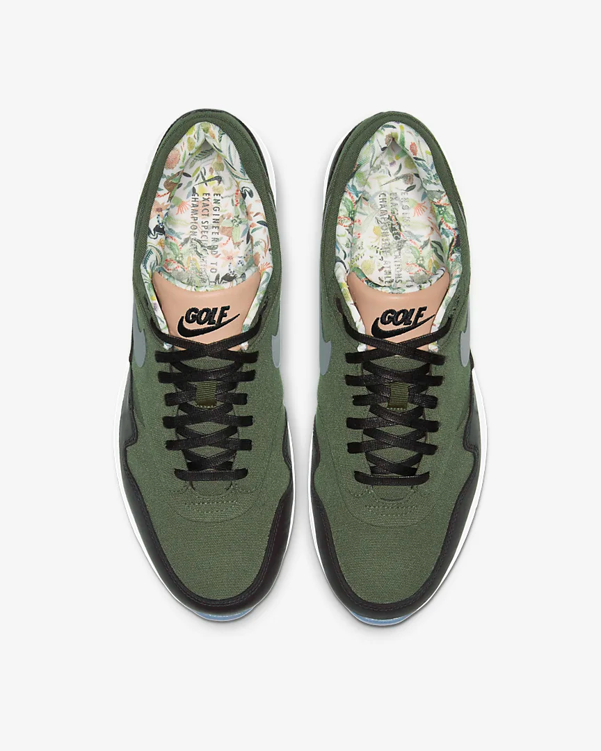 Now Available Nike Air Max 1 Nrg Golf Cargo Khaki Sneaker Shouts