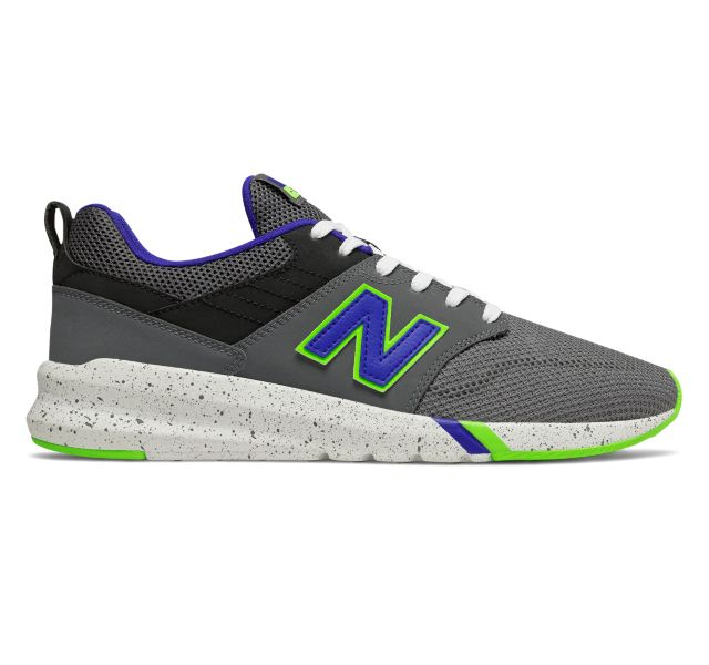 "New Balance 009 ""Grey Lime"": Sale Price: $27.99 (Retail $70)  – FREE SHIPPING"